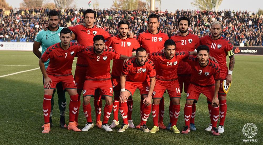 Сборная Афганистана проведет в Душанбе все свои домашние матчи на отборе Кубка Азии-2019