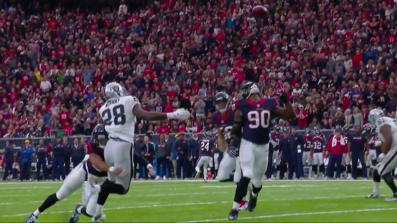 NFL 2016-2017 / AFC Wild Card / Oakland Raiders - Houston Texans / 1H / 07.01.2017 / EN