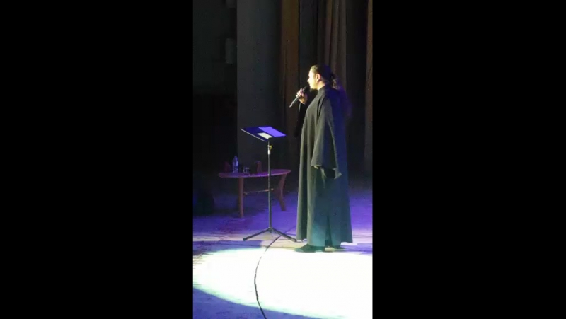 Концерт о.Фотия в Тюмени
