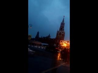 Поездка на Красную площадь ночью
