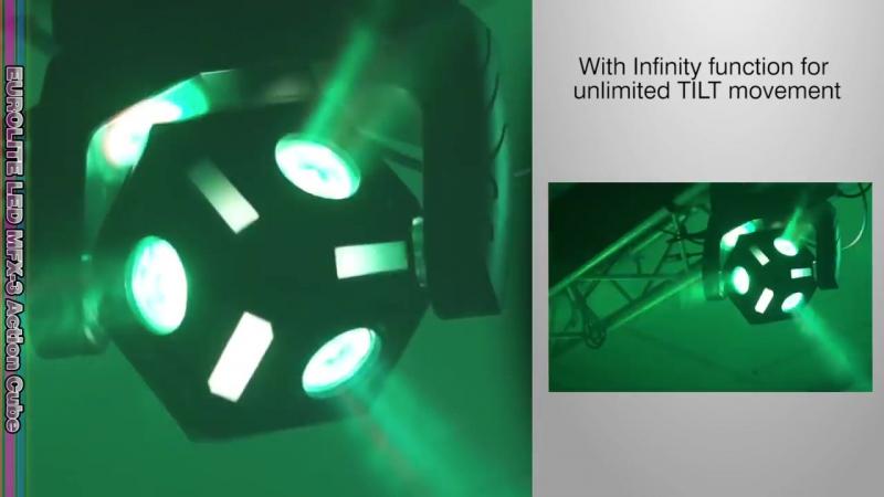 EUROLITE LED MFX 3 Action Cube