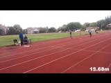 Артем TJ - личный рекорд. 15.68м, #U18.