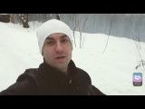 Андрей Назаров помогает выгуливать собак в приюте для животных