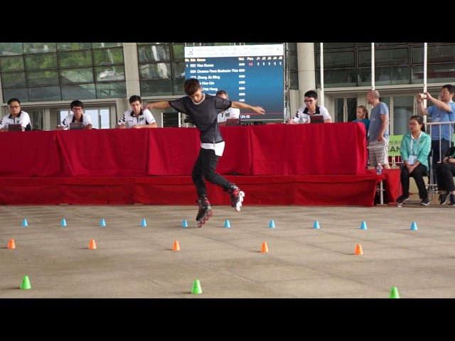World Roller Games 2017 ( WFSC ) / Qualification classic / Zheng Jia Ming