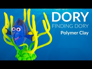 DORY (Finding Dory) – Polymer Clay Tutorial