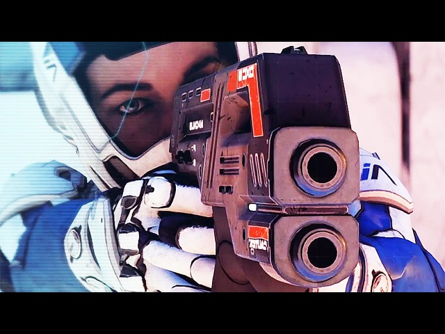 Mass Effect Andromeda Weapons Trailer