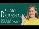 Start Deutsch 1 Oral Exam - Part 1 - Goethe Institute - Prep - A1