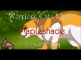 Warriors Cats MAP  Mapleshade COMPLETED