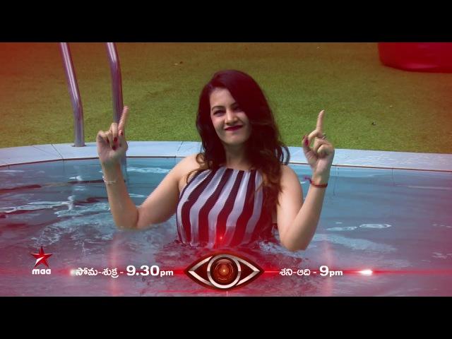 Wild Card Entry Diksha Panth to make hulchul in the house BiggBossTelugu Today at 9:30 PM