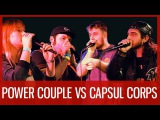 POWER COUPLE vs CAPSUL CORPS    American Beatbox Championship 2016    Tag Team Battle SEMI FINAL