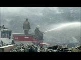 Чрезвычайная ситуация вЧелябинске, где вчерте города уже двое суток горит огр...