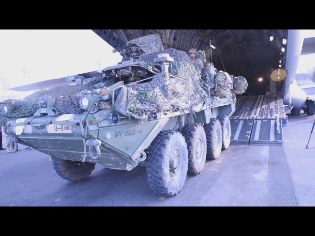2d Cavalry Regiment Arrives in Tbilisi for exercise Noble Partner