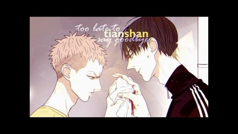 TIANSHAN   too late to say goodbye