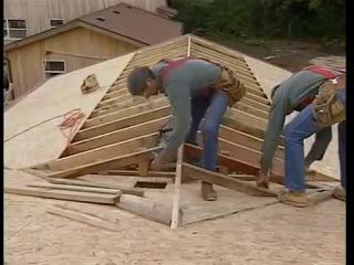 3. Ларри Хон Сборка каркаса крыши Часть 3 [Larry Haun The assembly of the roof framing Part 3]