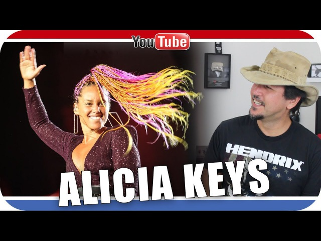 Reagindo a ALICIA KEYS Rock in Rio - Girl On Fire - Fallin' - If I Ain't Got You React Reação