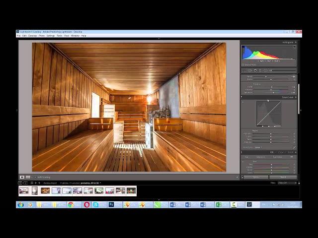 Обработка фото интерьера в Лайтрум Фотошоп