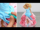 (https://vk.com/lakomkavk) Barbie Fashion Doll Cake How To Make by Cakes StepbyStep