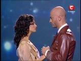 красивый танец Т.Денисовой и В.Ямы