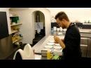 The busy kitchen at the 3 Michelin star Schauenstein