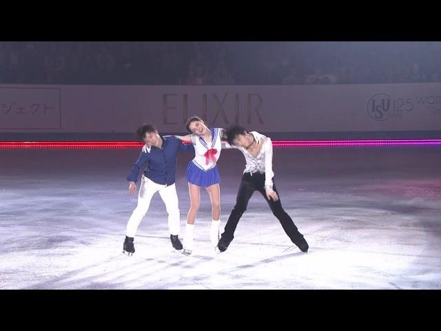 Yuzuru / Medvedeva / Shoma - We Wanna Party - WTT 2017