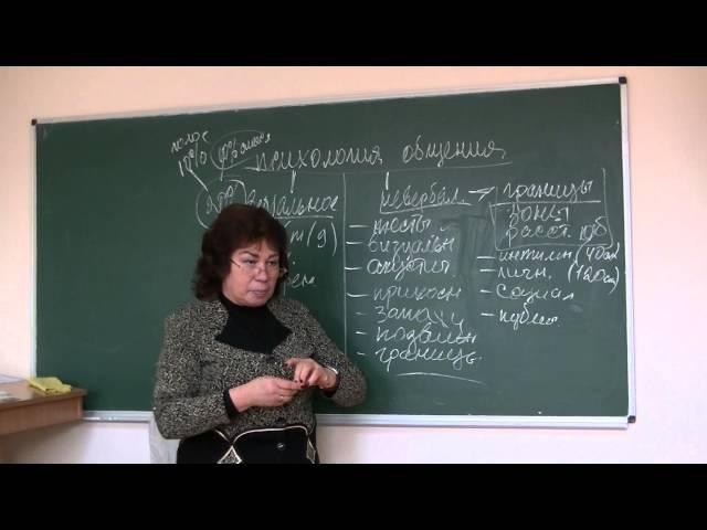Границы при общении. Психолог Наталья Кучеренко, лекция №07.