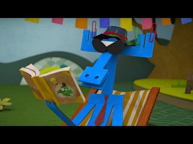Бумажки - Бумажный детектив - мультфильм для детей - поделки своими руками