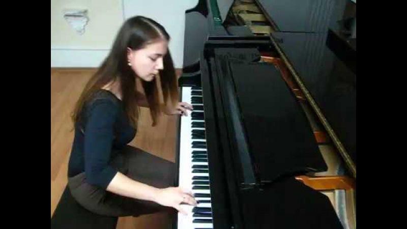 Елена Алышева М.Дворжак - Джазовый этюд C-dur CASIOTEKA конкурс2016