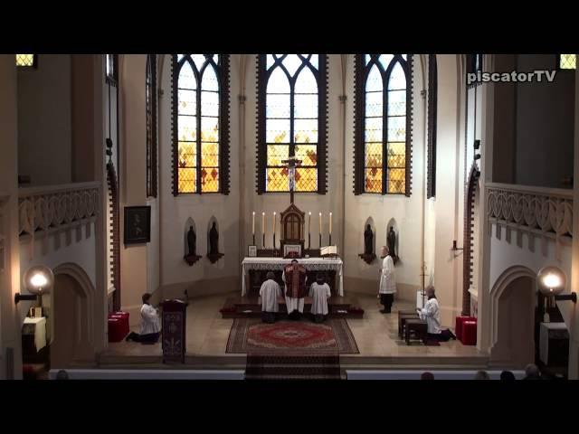 Традиционная латинская Месса 1-е воскресенье Великого поста/Dominica I in Quadragesima 1 - Introitus - Traditional Latin Mass