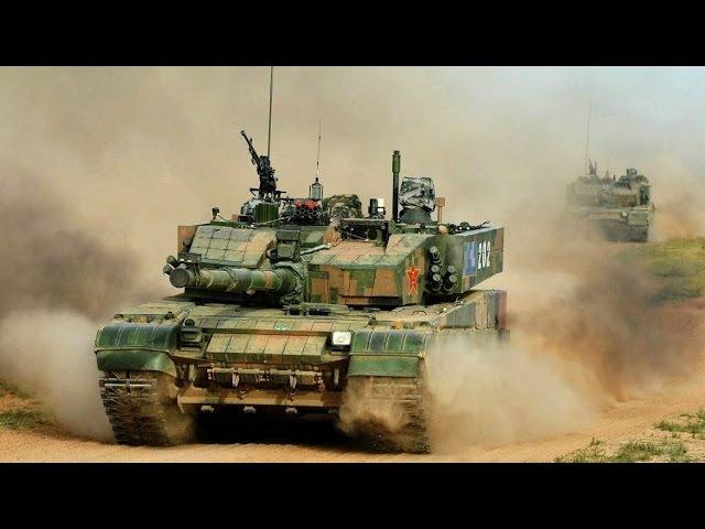 Китайский танк Type 99