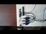 Тест прототипа электромагнитно-поршневого двигателя