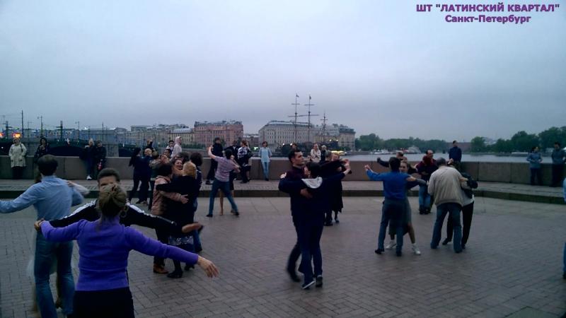 Вечер бальных танцев на Стрелке. Лучшие моменты 9.06.17