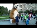 Киев.19 мая ,2017.Медведь на Майдане Незалежности (видео Михаила Волгина)