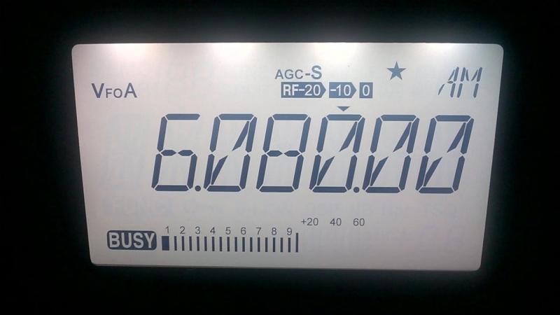 Voice of America 6080 kHz