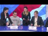 Пресс-конференция о подписании партнерского соглашения между ПФК