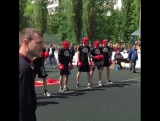 #белогор #русскаястенка Потомки победы 9.05.17 Белгород