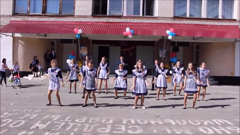 Танец одиннадцатиклассников на 1 сентября 2016г
