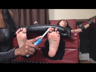 Nicole Oring Toetied Tickled and Stripped