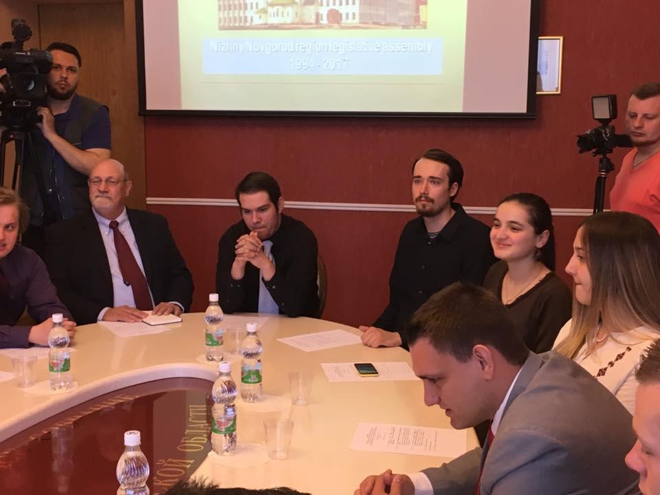 Студенты из США посетили Законодательное Собрание