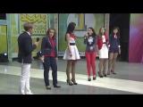 Ида Галич (Galichida) - КВН Осенний поцелуй - 2014 Первая лига Первая 1-2 Приветствие