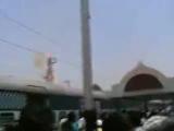 удар током на крыше поезда