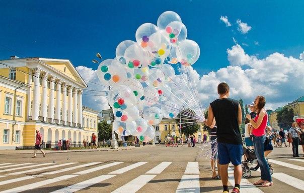 С Днем рождения Кострома!🎉🎊🎈