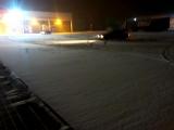 Первый снег пробуем валить на БМВ е30)