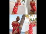 #Aliexpress #best продукт Платье # Женщины высокой ремешок талии шифон пляж платье Boho #Sexy Party #Dresses