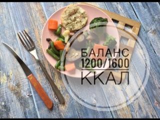 Рационы Баланс 1200/1600