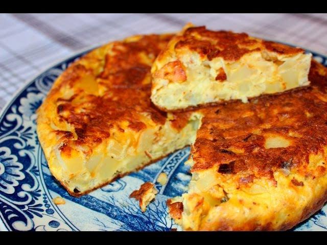Тортилья (Tortilla de patata) - Готовим Вкусно и Красиво