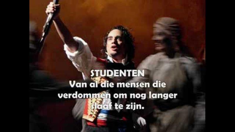 Les Misérables 2008 2009 Hoor je het zingen op de straat