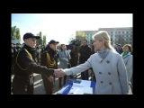 ХОДА - Юлия Светличная приняла участие в торжествах по случаю принятия присяги курсантами ХНУВД