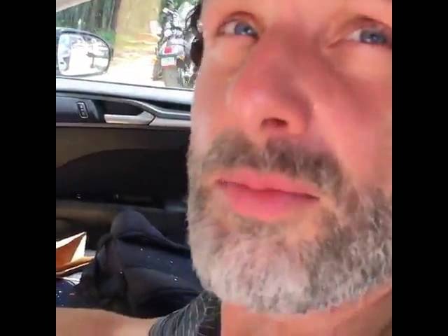 The Walking Dead Norman Reedus pranked Andrew Lincoln So Funny Video