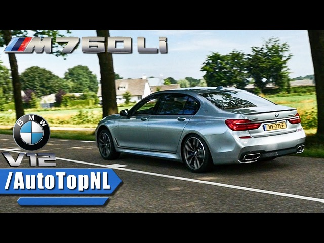 BMW M760Li xDrive 6.6 V12 BiTurbo DRIVE REVS Exhaust SOUND by AutoTopNL