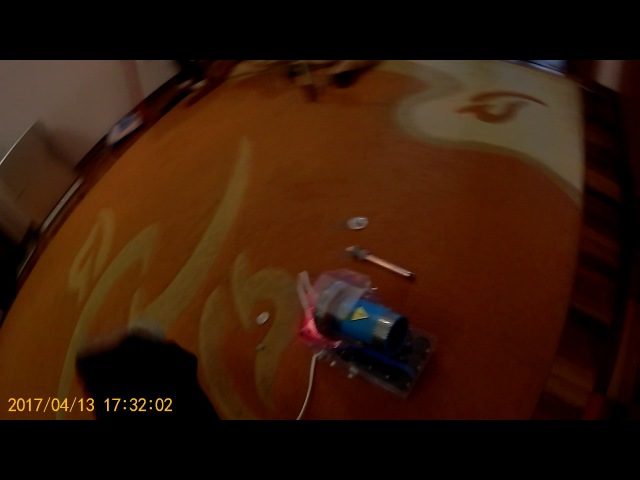 Гаусс-2 испытание прототипа техноигрушки шайба